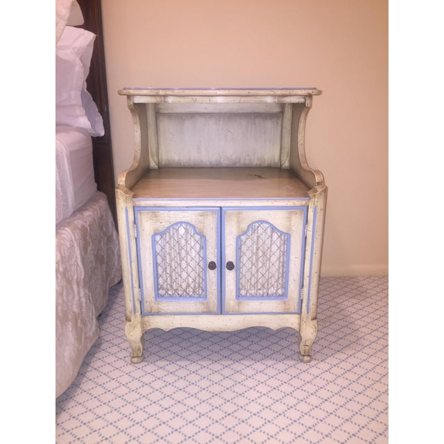 Antique Armoire With Matching End Tables - Image 2 of 6