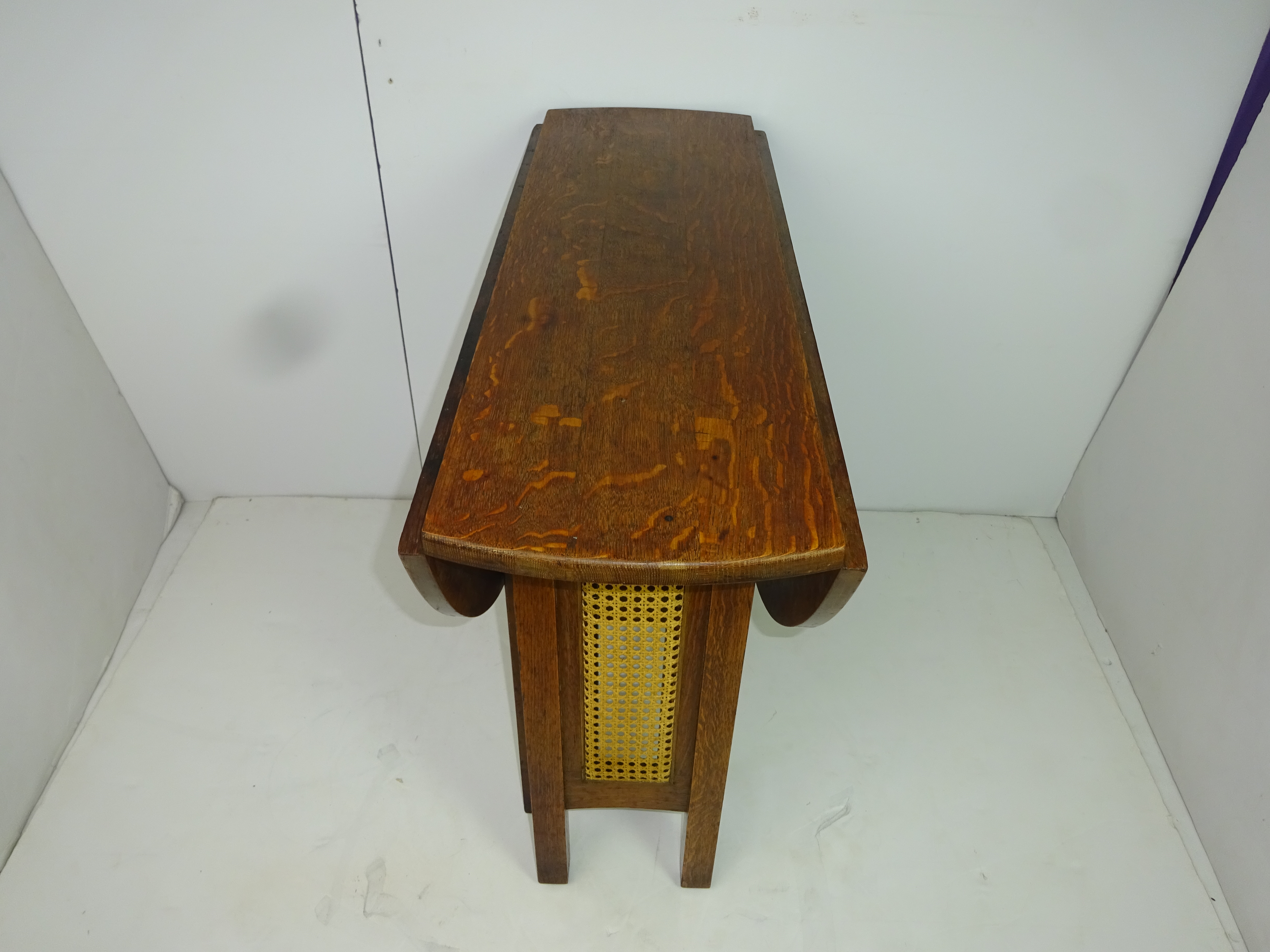 Signed Stickley Brothers Drop Leaf Gate Leg Table   Image 3 Of 10