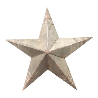 Rustic Metal Hanging Star