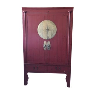 Red Laquear Wedding Chest