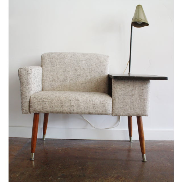 Image of Mid-Century Gossip Chair