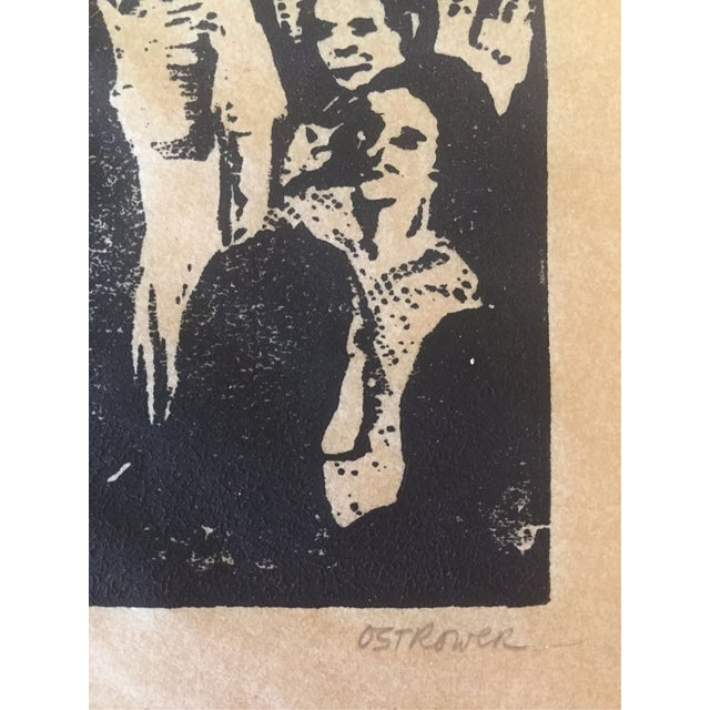 Image of Fay Ostrower Woodblock Print
