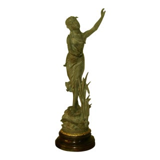 "Early 1900's ""La Nymphe"" Sculpture"