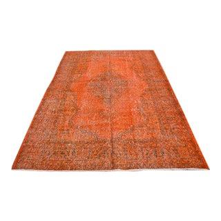 Decorative Turkish Floor Rug - 5′11″ × 8′6″