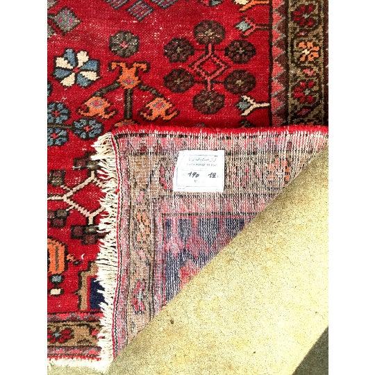 """Semi-Antique Persian Rug - 4'4"""" x 6'4"""" - Image 6 of 6"""