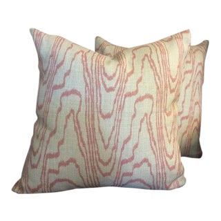 Kelly Wearstler for Groundworks & Lee Jofa Pillows - a Pair