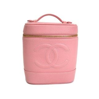 Chanel Caviar Skin Vanity Bag