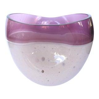 Large Italian Blown Art Glass Vase