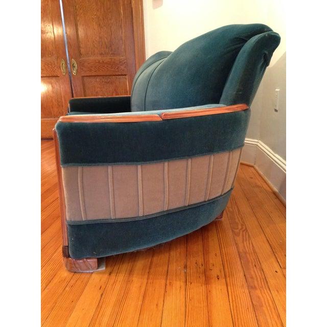 Art Deco Mohair Sofa & Armchair - A Pair - Image 4 of 11