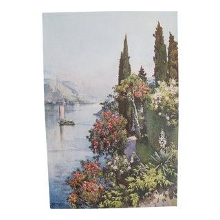 1905 Ella du Cane Print, Villa Giulia, Lago di Como