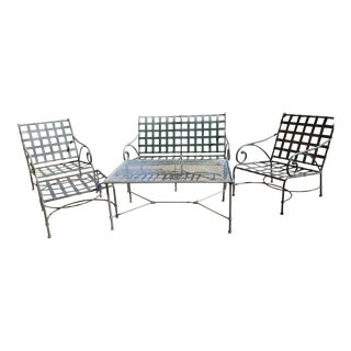 5-Piece Brown Jordan Florentine Outdoor Seating Set