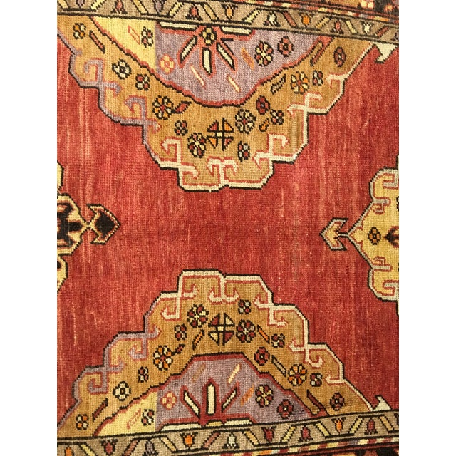 "Bellwether Rugs Vintage Turkish Oushak Runner - 5'8""x9'1"" - Image 5 of 10"