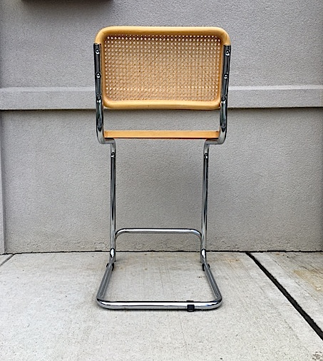 Marcel Breuer Style Cesca Bar Stool Chairish