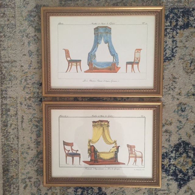Chelsea House French Framed Lithographs - A Pair - Image 2 of 11
