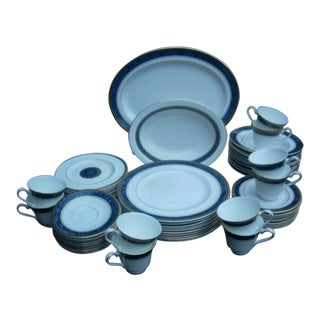 Royal Doulton Stanwyck Bone China Dinner Service- 62 Pieces