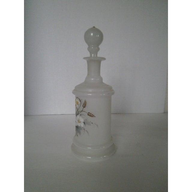 Image of Antique Bristol Glass Decanter