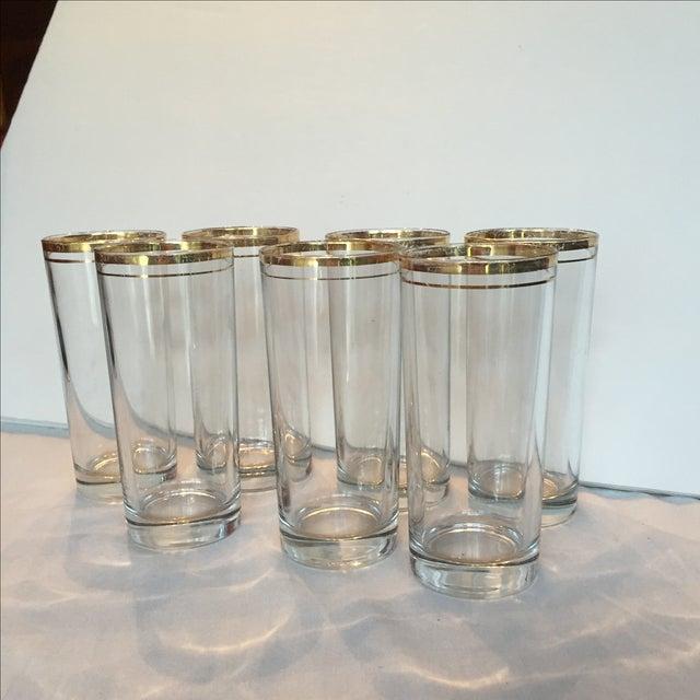 Gold Trimmed Glasses - Set of 7 - Image 10 of 10