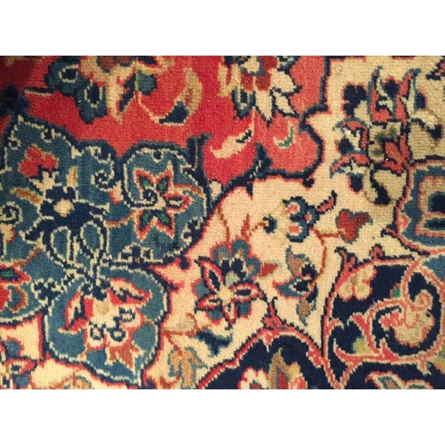 """Handmade Persian Isfahan Wool Rug - 8'9"""" X 12'0"""""""