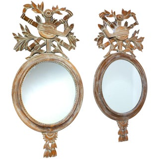 20th Century Vintage Mirrors - A Pair