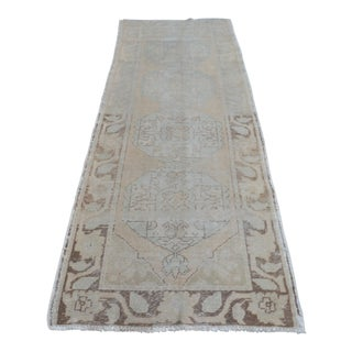 "Turkish Oushak Runner Rug - 36"" x 111"""