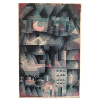 "Paul Klee Vintage 1967 Original Abstract Lithograph Print ""Dream City"", 1921"