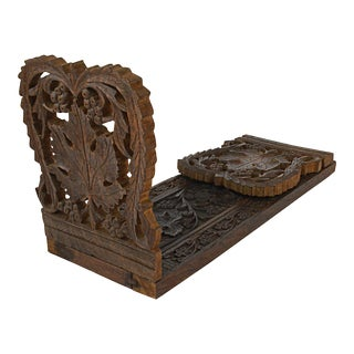 Carved Black Forest Book Slide
