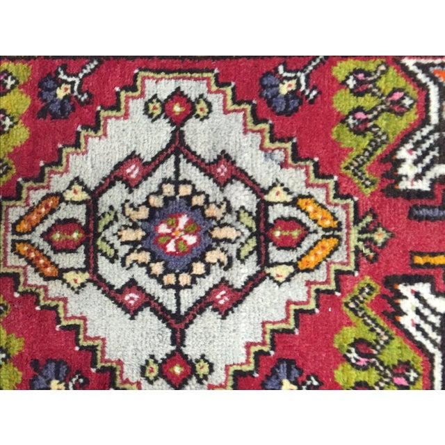 "Antique Anatolian Persian Rug - 1'7"" x 3'4"" - Image 6 of 8"