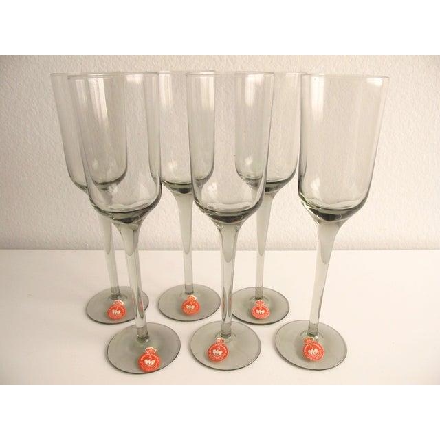 Holmegaard Vintage Danish Smoke Glasses - S/6 - Image 2 of 3
