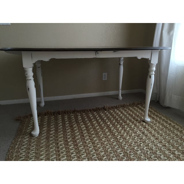 Vintage Restored Dining Table - Image 9 of 9