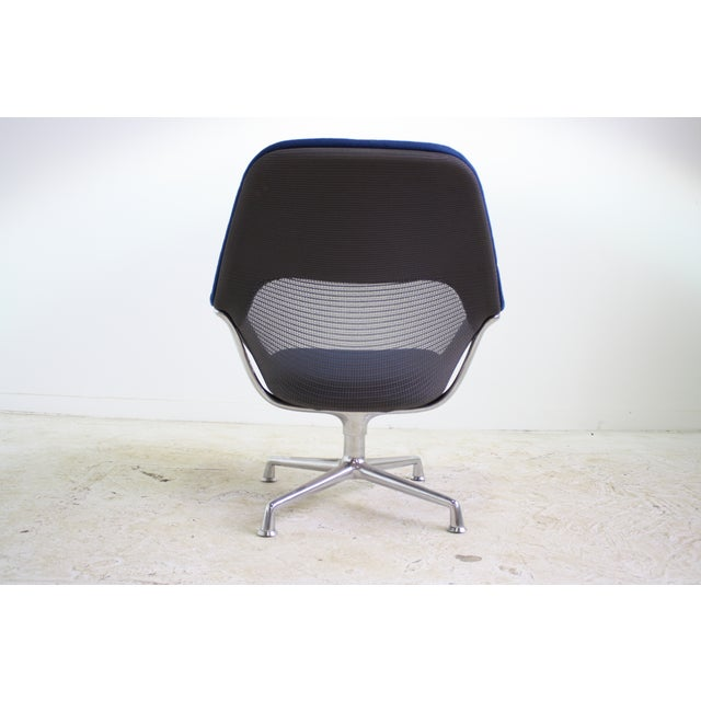 Image of Steelcase Blue Contenu Swivel Office Chair