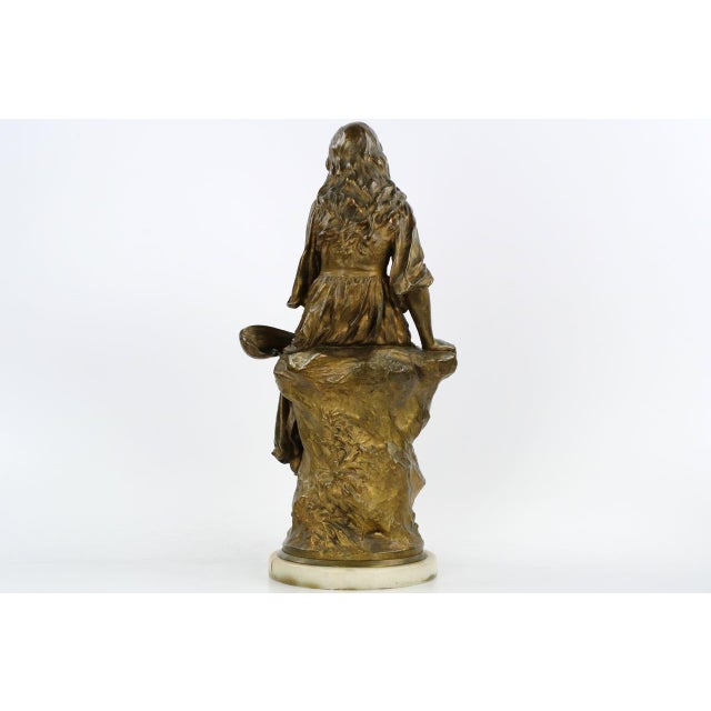 Image of Paul Eugéne Mengin Bronze Sculpture
