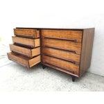Image of Mid-Century Walnut Wood Dresser