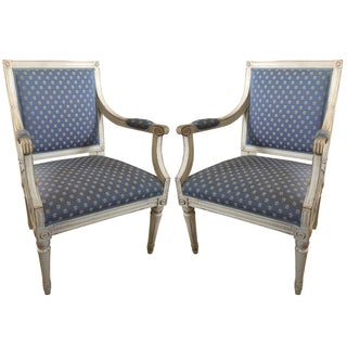 Matching Gustavian Chairs - A Pair