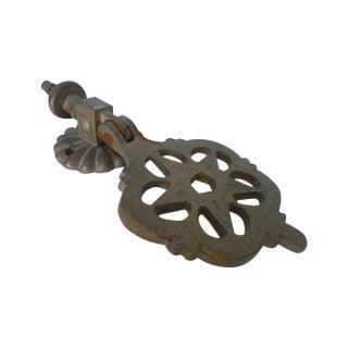 Antique Moroccan Brass Door Knocker
