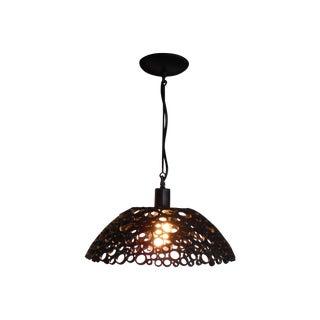 Tiffany Steel Pendant Light