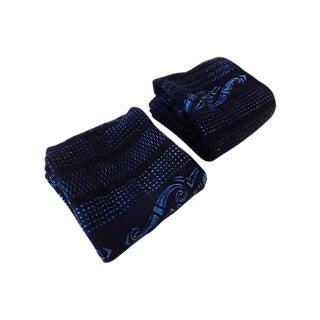 Indigo Mali Textiles - A Pair