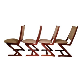 Mid-Century Teak 'Z' Chairs