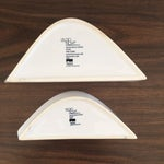 Image of Mid-Century Design Fine China Dishes - A Pair