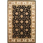 Image of Agra Collection Traditional Oriental Rug - 6'x9'