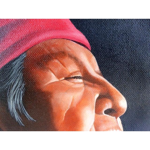 Southwestern Portrait by Jeff St. John - Image 4 of 10