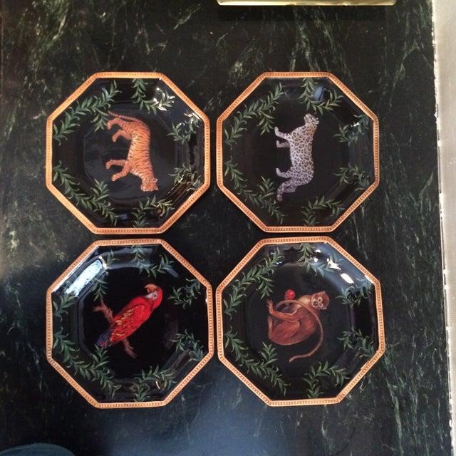 Decorative Decoupage Plates - Set of Four - Image 2 of 9