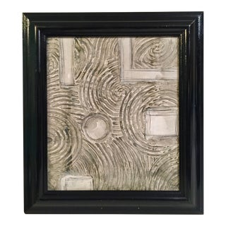 Abstract Textured Painting