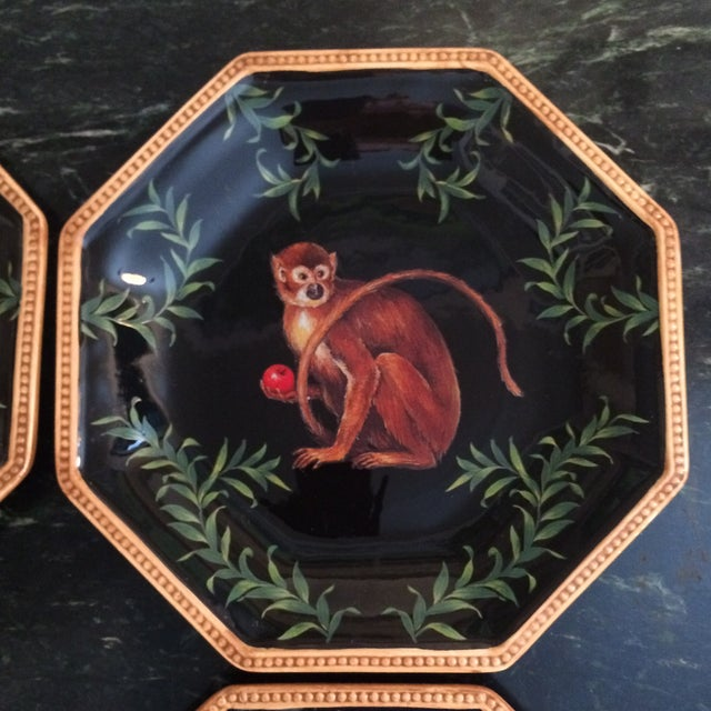Decorative Decoupage Plates - Set of Four - Image 8 of 9