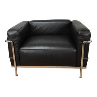 Le Corbusier Lc3 Lounge Chair - Two Available