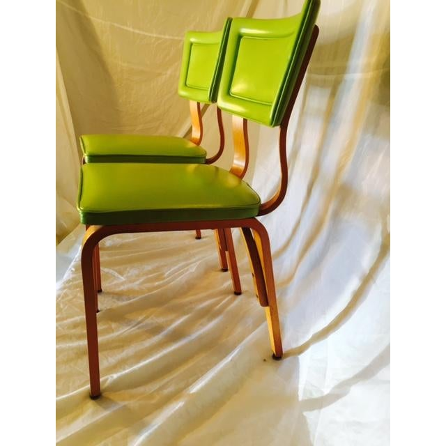 Vintage Mid-Century Original Thonet Chairs - Image 3 of 6