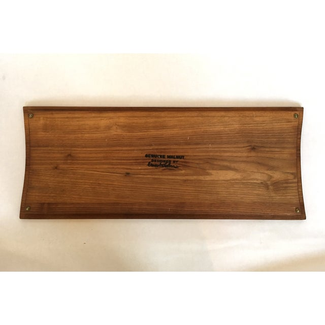 Image of Vintage Ernest Sohn Walnut Tray