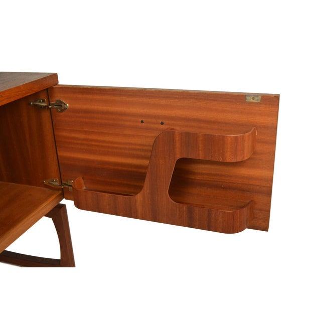 G Plan Mid-Century Danish Modern Teak Desk - Image 3 of 7