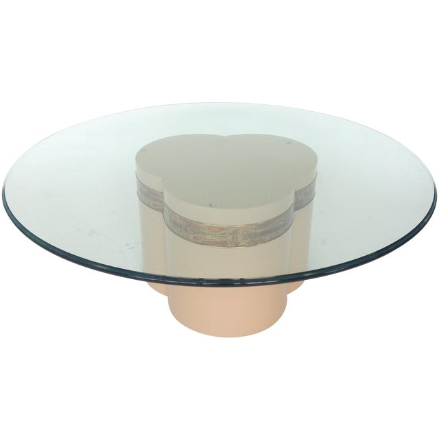 Image of Bernhard Rohne Mastercraft Trifoliate Coffee Table
