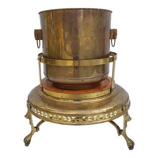 Vintage Brass Home Decor Indoor Planter Pot .