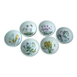 Portmeirion Floral Dessert Bowls - Set of 6